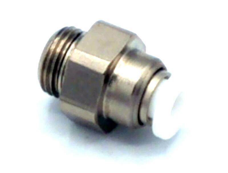 "EC'line Straight Plug Fitting 4mm - 1/8"" Eversys"