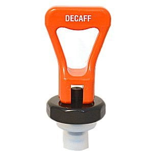 Upper Faucet Assembly ES Thread #16 Orange Decaff Fetco