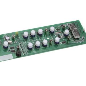 Assembly 10 Keys DP3 Board Switch Fetco