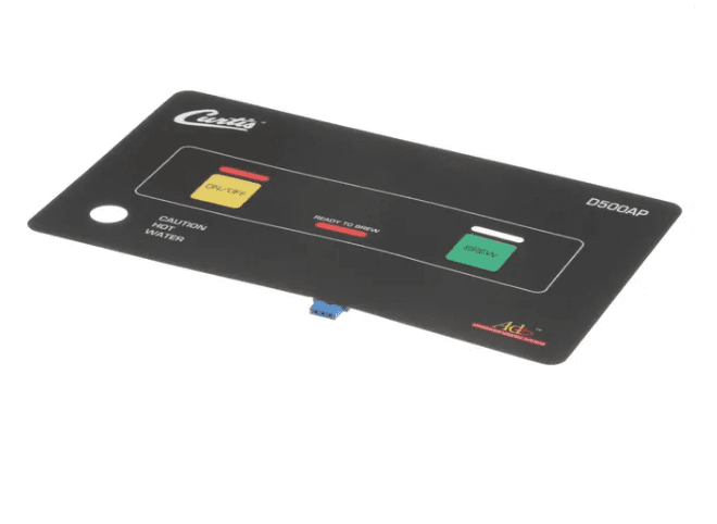 Membrane Control Panel Curtis D500-AP/APT Wilbur Curtis