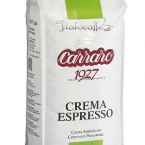 Caffe Crema Espresso Beans 1000g Carraro