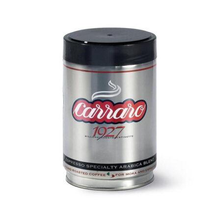 Caffe 1927 Signature Blend Ground Espresso 250g Tin Carraro