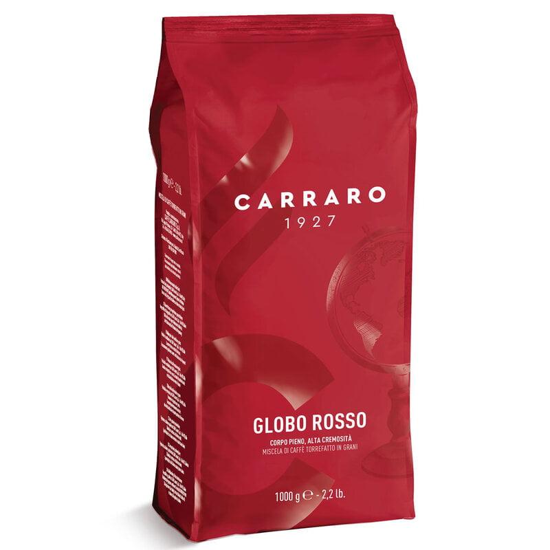 Caffe Globo Rosso Espresso Beans 1000g Carraro