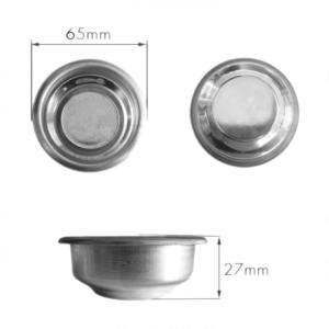 Blank Filter Stainless Steel 27mm x 65mm La Spaziale