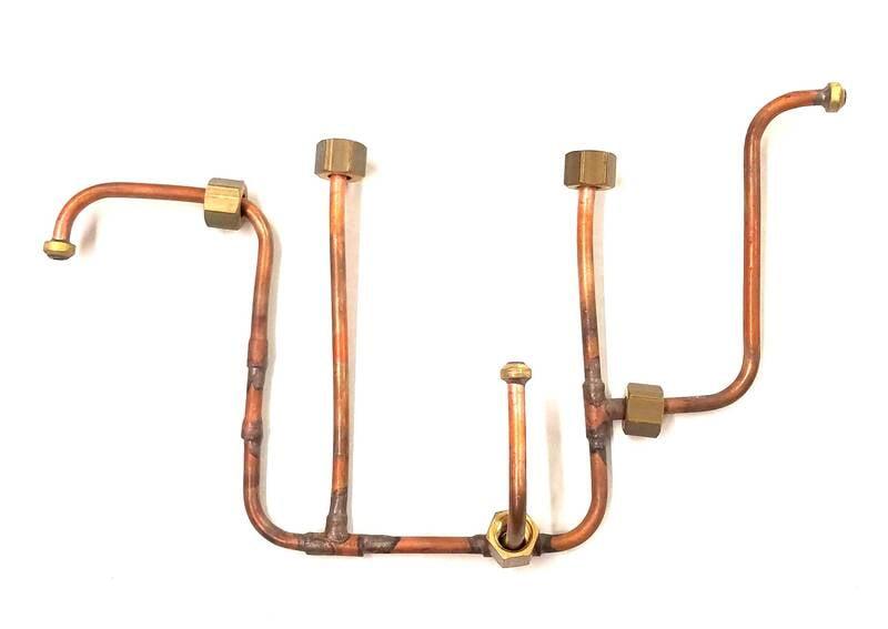 Premier Brass Pipe Distributor 2001 V 2 Group Nuova Simonelli