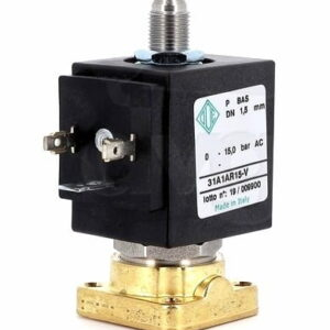 Solenoid Valve 3 Way Base Conical 15 bar RUBY Nucleus 230Vac 60Hz Coil ODE