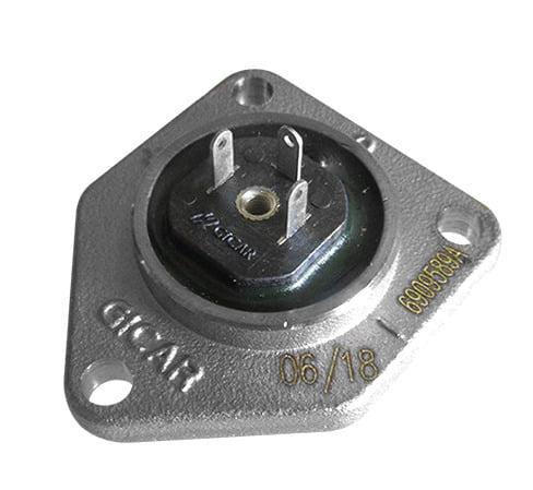 Flowmeter Cover W / Connector Led9.0.16.00G Gicar