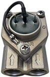 "Flowmeter 1/4"" 1.15 Faston W/Ground & Led Rancilio Marzocco Giemme"
