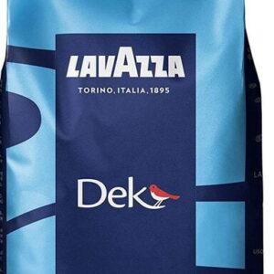 Lavazza DEK Decaff Filter Coffee Beans 12/1.1Lb. Caffe In Grani Per Machine Filtro Tostato E Confezionato Dalla Luigi Lavazza S.p.A. Torino PRODUCT OF ITALY