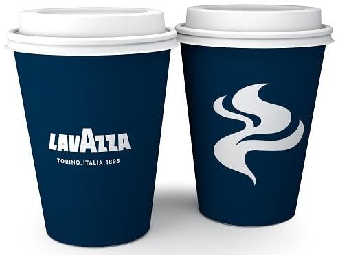 Cup Hot 12oz Lavazza Logo 1000ct.