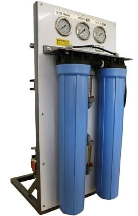 Reverse Osmosis ROS/COMP-II-800 Compact System with Low Energy Membrane 800-900 GPD 120V/60Hz