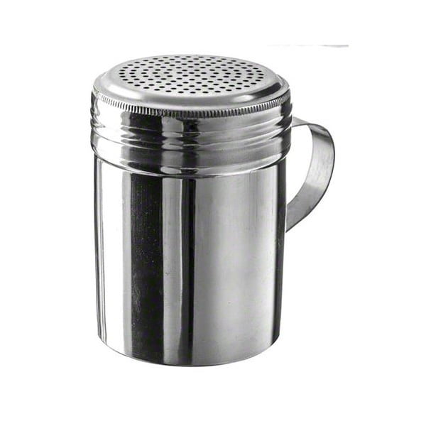 Stainless Steel Dredge Shaker with Handle Update International